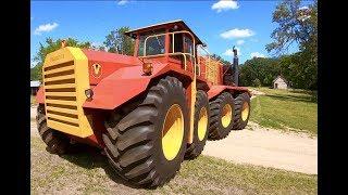 Farmhand Mike gets to drive Versatile Big Roy