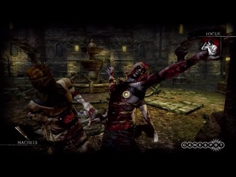 Rise of Nightmares - Gameplay (Xbox 360, Kinect)