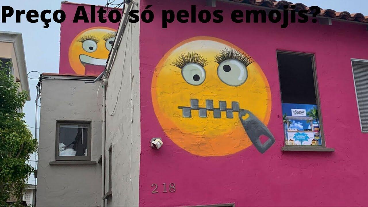 Existem casas que tem emojis pintados? Veja o que aconteceu com uma delas...
