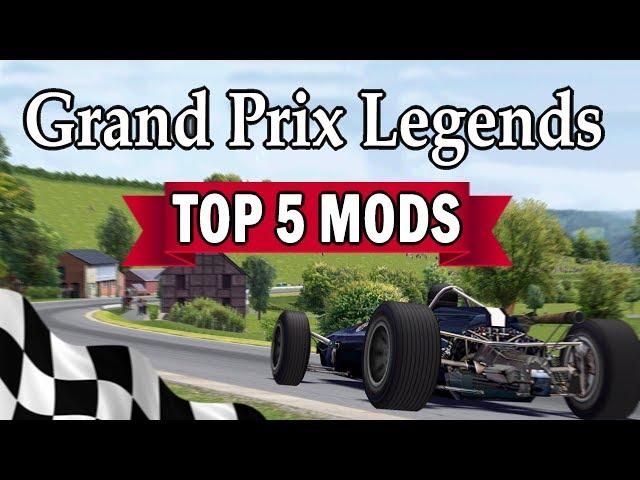 Grand Prix Legends - Top 5 Favourite Mods