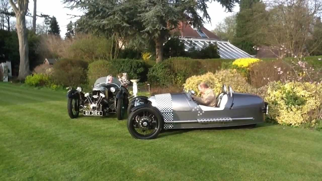 Morgan 3 Wheelers The Old And The New Youtube