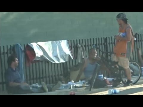 AMERICA FIRST: MASSIVE POVERTY AND HOMELESSNESS IN PHOENIX WHILE ILLEGALS ARE WELL FED AND HAPPY.