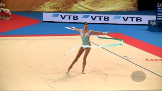 SOLDATOVA Aleksandra (RUS) - 2018 Rhythmic Worlds, Sofia (BUL) - Qualifications Ribbon
