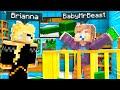 I Found BABY MrBeast in Minecraft! *secret*