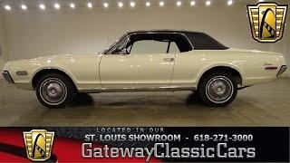 1968 Mercury Cougar - Gateway Classic Cars St. Louis - #6359