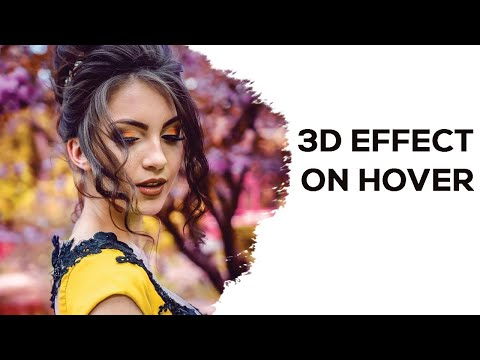 3D Effect on Hover Animation | CSS Animation effects
