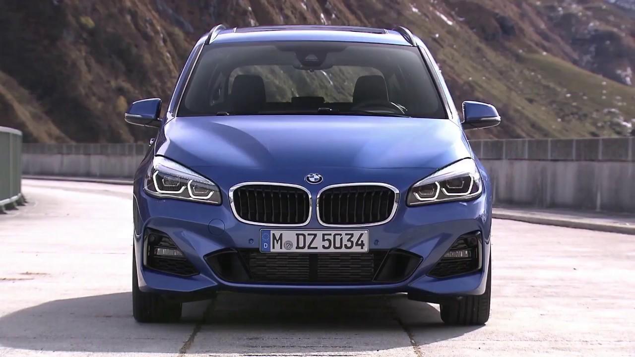 The new BMW 2 Series Gran Tourer Trailer