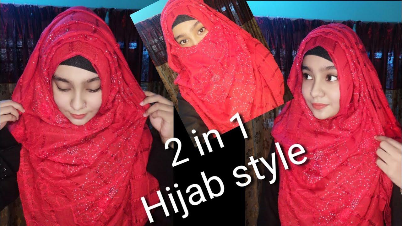 Hijab tutorial || 2 in 1 hijab style || হিজাব স্টাইল ||