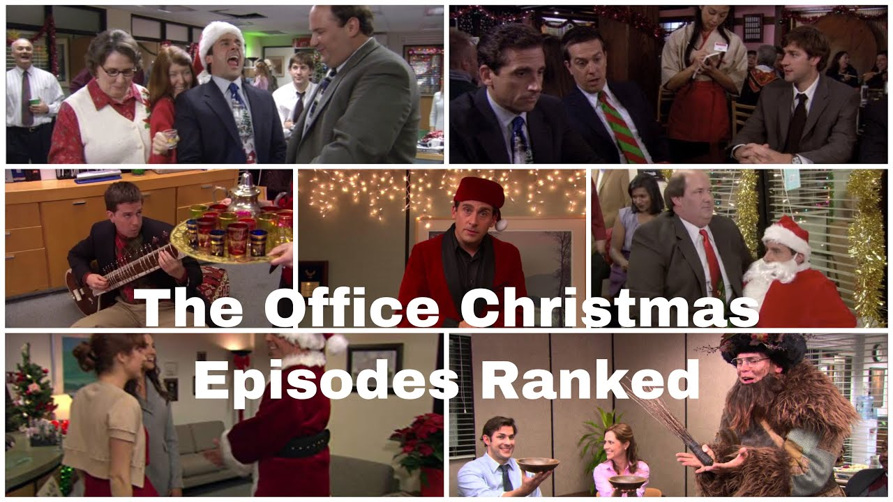 Ranking All 7 Christmas Episodes of The