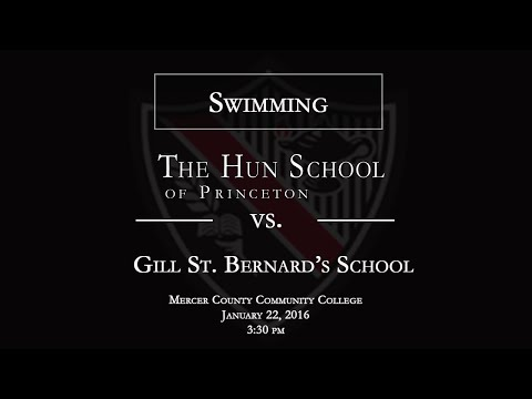 The Hun School of Princeton Swimming vs. Gill St. Bernard's