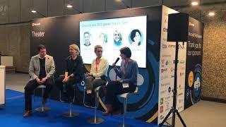 Diversity and Tech Panel at Microsoft Tech Summit Amsterdam