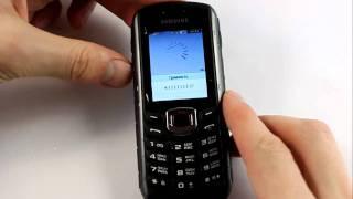 Samsung B2710 Xcover. Погружение в воду на 20 секунд