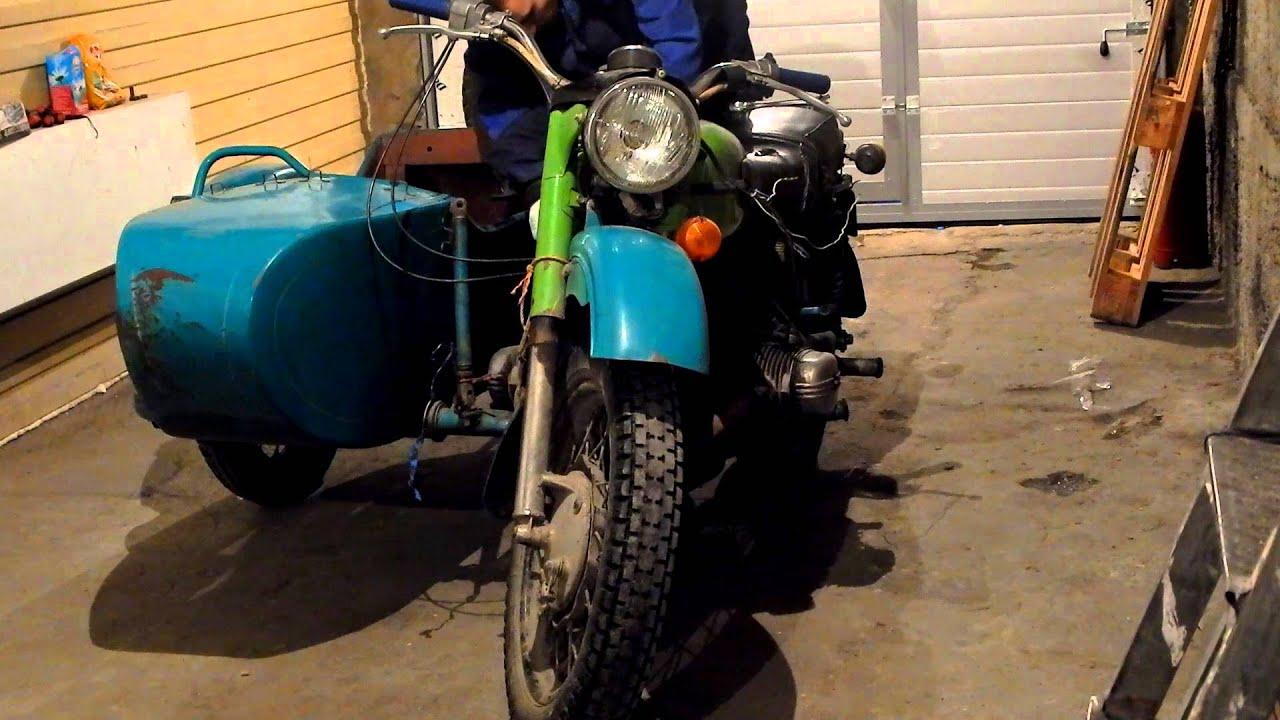 Как починить мотоцикл урал ю туб