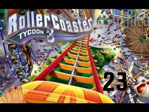Roller Coaster Tycoon 3 Ep.23: LOAN PAID OFF FOR THE SECOND COASTER