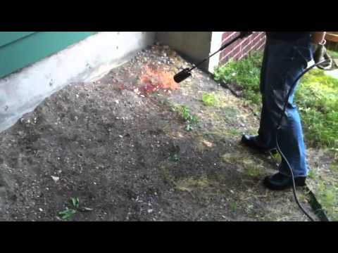 how to build a flame weeder