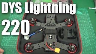 Sneak peek: DYS Lightning 220 PNF racing drone