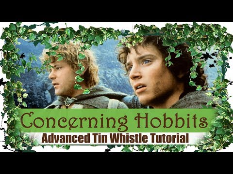 Concerning Hobbits  Shire Theme  ADVANCED TIN WHISTLE TUTORIAL