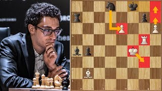 Passed Pawn Is a Criminal  | Caruana vs Ding Liren | Candidates Tournament 2018.