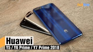 Обзор Y-серии от Huawei: от Y5 2018 до Y7 Prime 2018