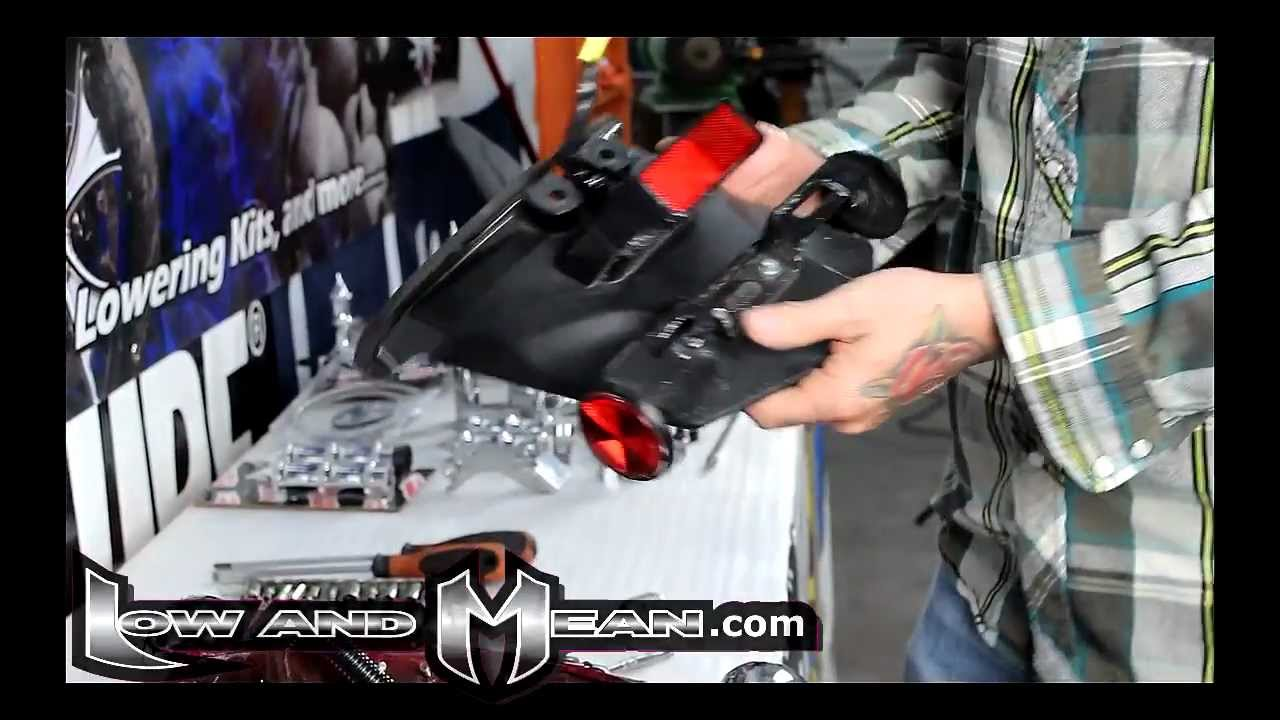 Yamaha V Star 950 Wiring Diagram For Lights Schematics 1100 Rear Light Install By Low And Mean Youtube Rh Com Fz8 Vino