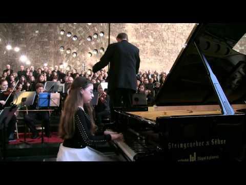 Mozart Concerto no 20 in d minor,KV 466 Iva Zurbo Piano