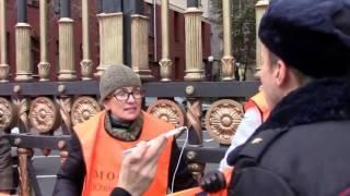 Акция протеста обманутых дольщиков.