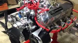 Préparation nouveau moteur mustang
