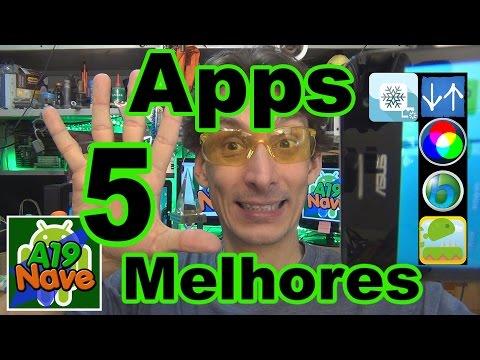 #079 - Os 5 melhores aplicativos para Android - #A19-116