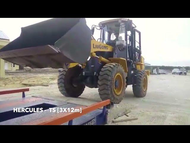 PEMASANGAN & TESTING JEMBATAN TIMBANG HERCULES-TS 3x12m 80ton (Pekanbaru)