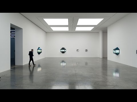 Josiah McElheny - The Crystal Land ex - White Cube - London March 2017