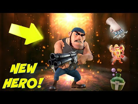 NEW BOOM BEACH HERO :: PRIVATE BULLIT UPDATE :: SNEAK PEEK