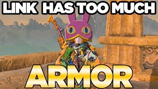 DLC Pack 2 Has TOO MUCH ARMOR in Zelda Breath of the Wild Champions Ballad | Austin John Plays