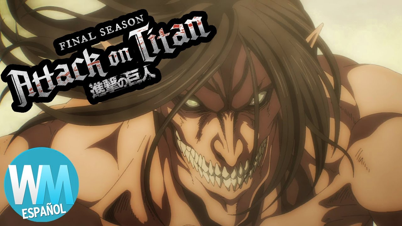 ¡Top 10 Momentos de la Temporada FINAL de ATTACK ON TITAN!