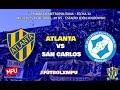 Atlanta vs. Villa San Carlos en VIVO - Primera B Metropolitana