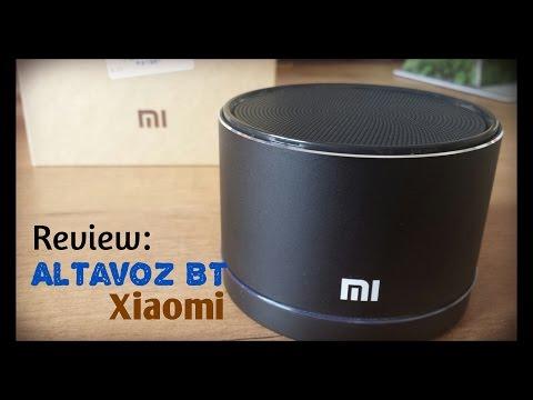Altavoz Bluetooth Xiaomi - Unbox y review (Speaker Bluetooth)