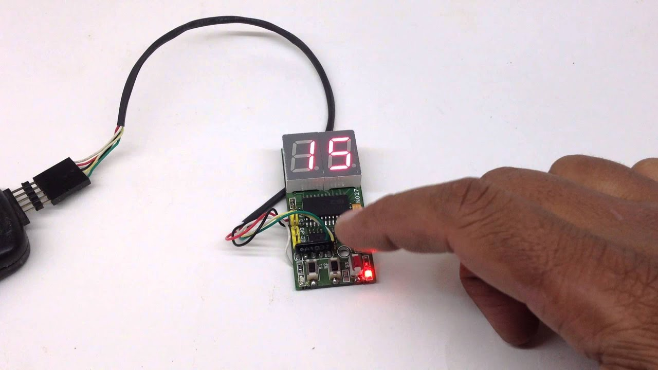 2 Digit Counter With Reset Youtube 7 Segment Display Arduino Also Circuit 4026
