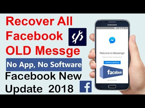 How to recover deleted messages on facebook messenger iphone for free