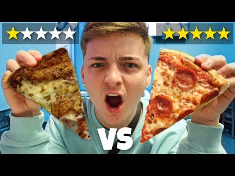 Worst Reviewed Pizza (1 STAR)  VS. Best Reviewed Pizza (5 STAR)