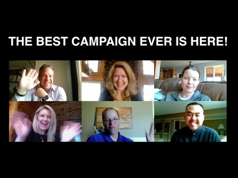 THE BEST CAMPAIGN EVER IS HERE!!!
