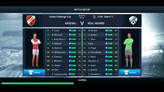 Dream League Soccer | Match 1 - Arsenal Vs Real Madrid