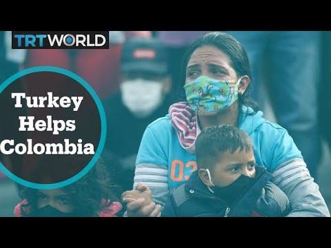 Turkish aid agency supports Colombians amid Covid-19