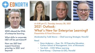 2021 Outlook: What's New for Enterprise Learning
