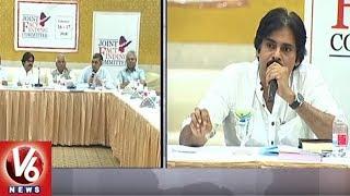 Janasena Chief Pawan Kalyan delivered a speech at first joint fact-...