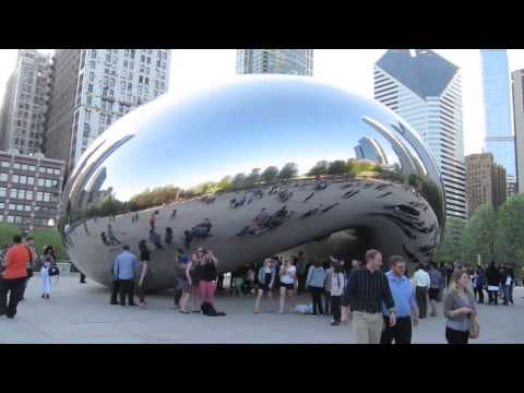 THE BEAN! Chicago's Millennium Park
