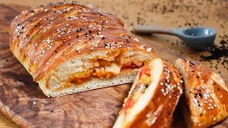 Рецепт завтрака с начинкой из хлеба. Форма потрясающая. Рецепт буррито с 1 стаканом молока. Легкий б