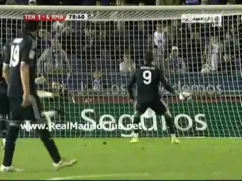 ريال مدريد 5 - 1 تنريفي الدوري الاسباني 2010