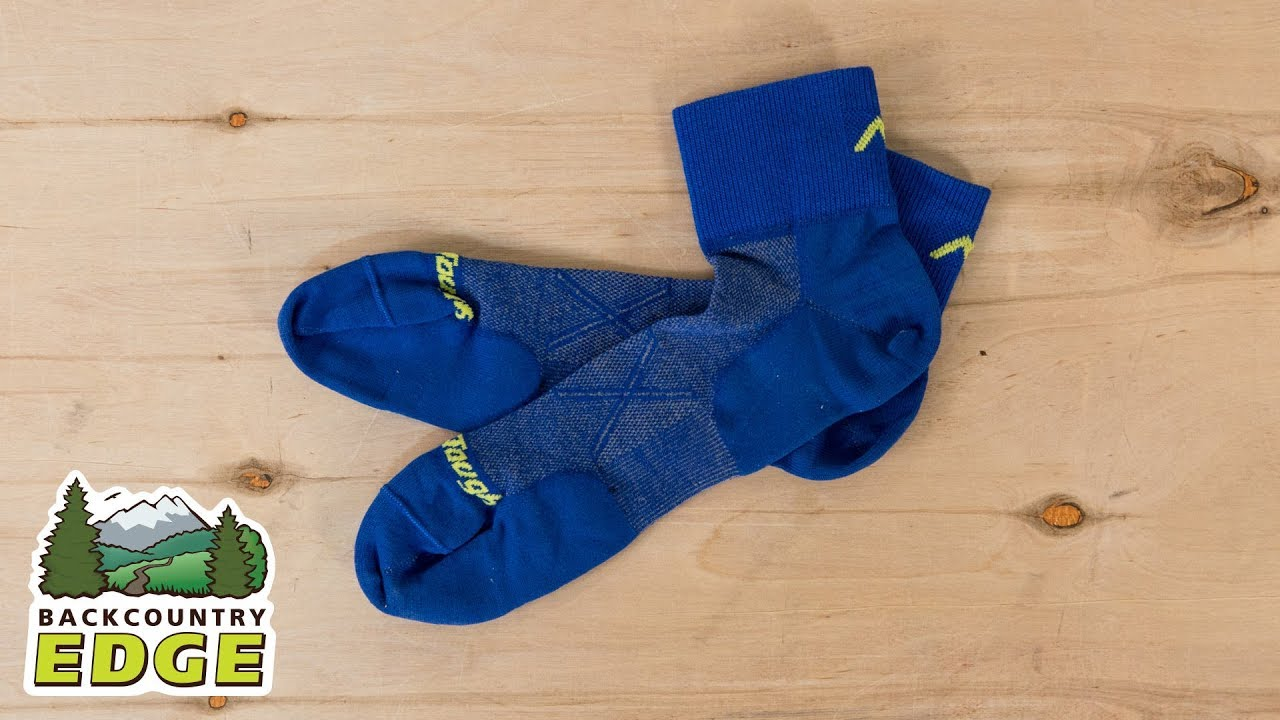 Mens 1768 Darn Tough Vertex Quarter Crew Ultralight Sock