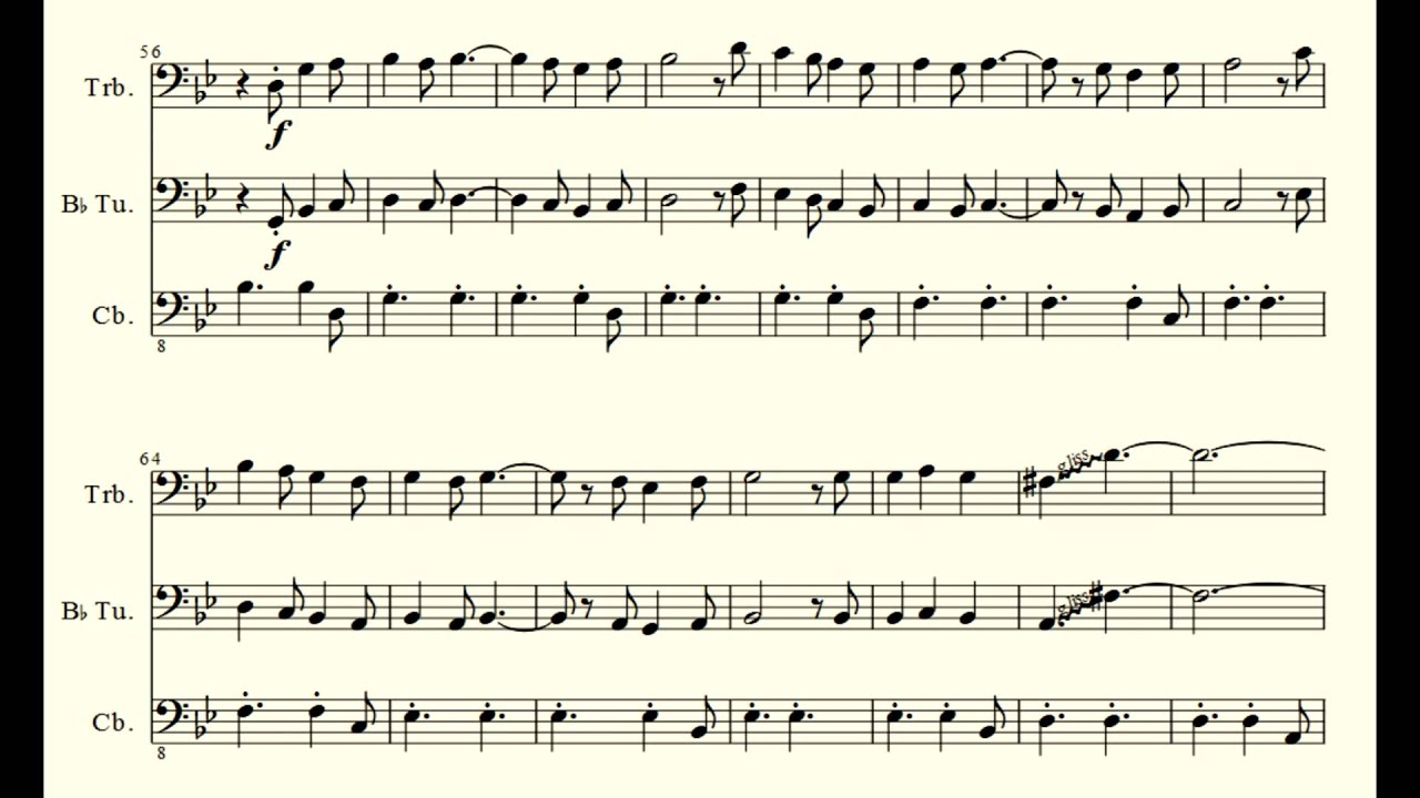 Happy together the piano guys trio and sheet music youtube hexwebz Gallery