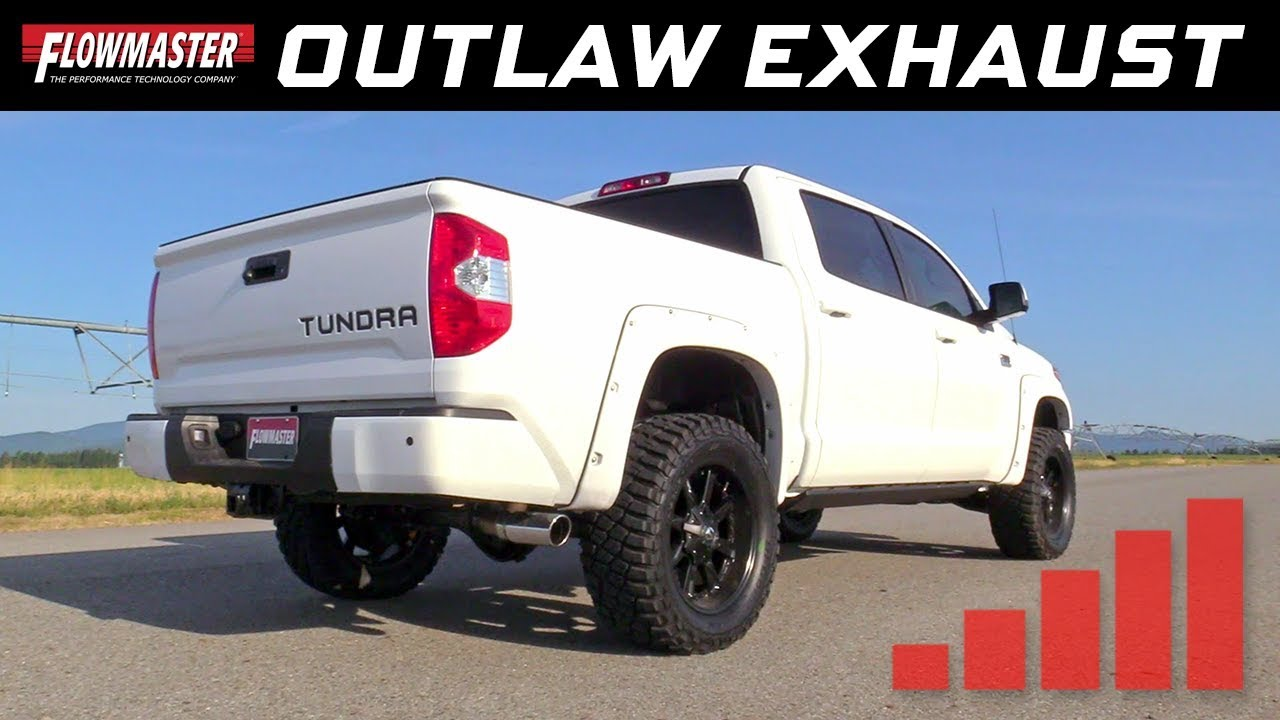 2009 20 toyota tundra 4 6l 5 7l outlaw cat back exhaust system 817692