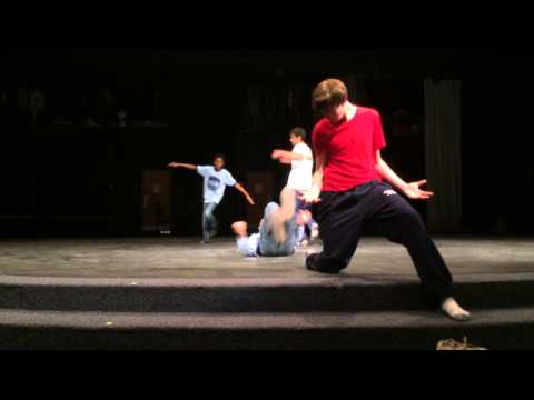 There are demons inside all of us-Interpretative dance by The Majority & Minority Dance group
